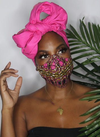 The Category Is...COVID CHIC! Mask