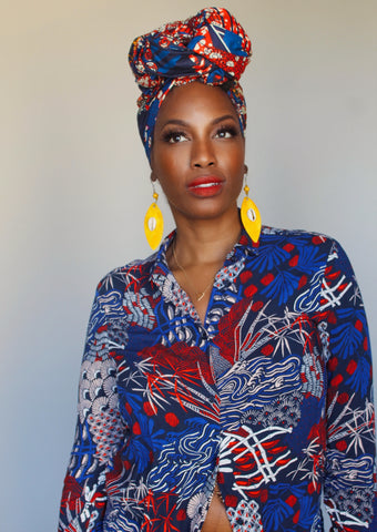 WELL-being Head wrap (RED)