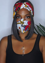 Sacred Flower Head wrap