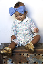 Divine Denim Baby Head Wrap