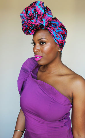 In Full Bloom head wrap
