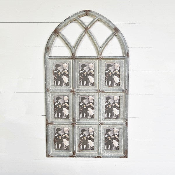 TIN CHAPEL FRAME WINDOW