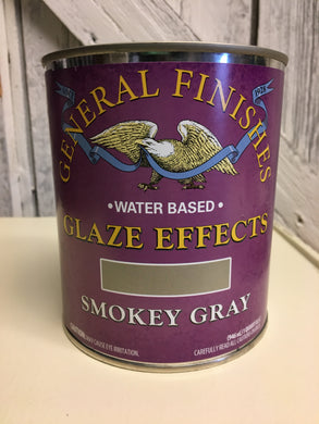 Smokey Gray Glaze effects Quart