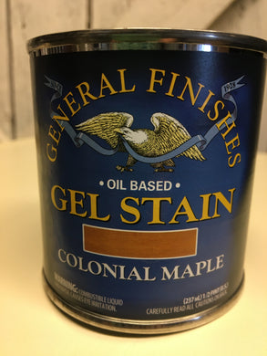 General Finishes's Colonial Maple Gel Stain Pint