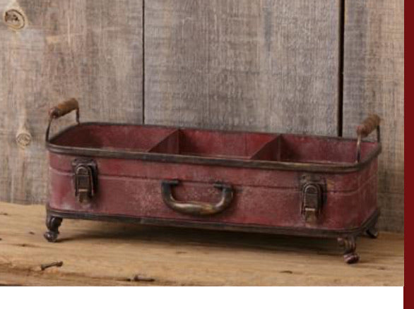 Suitcase Style Divided Container