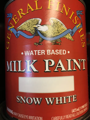 Snow White Milk Paint Quart