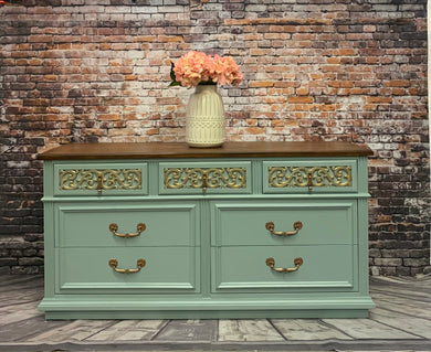 Lisa Persian Blue Double Dresser
