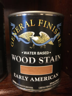 Early American Water Wood Stain Pint