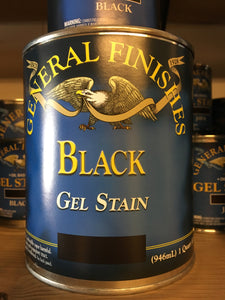 Black Gel Stain 1/2 Pint