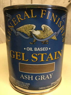 Ash Gray Gel Stain Quart