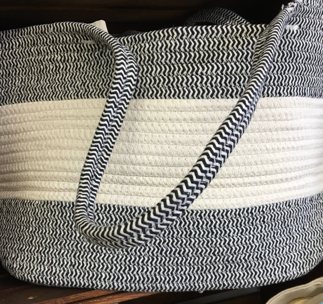 Large Woven Tote