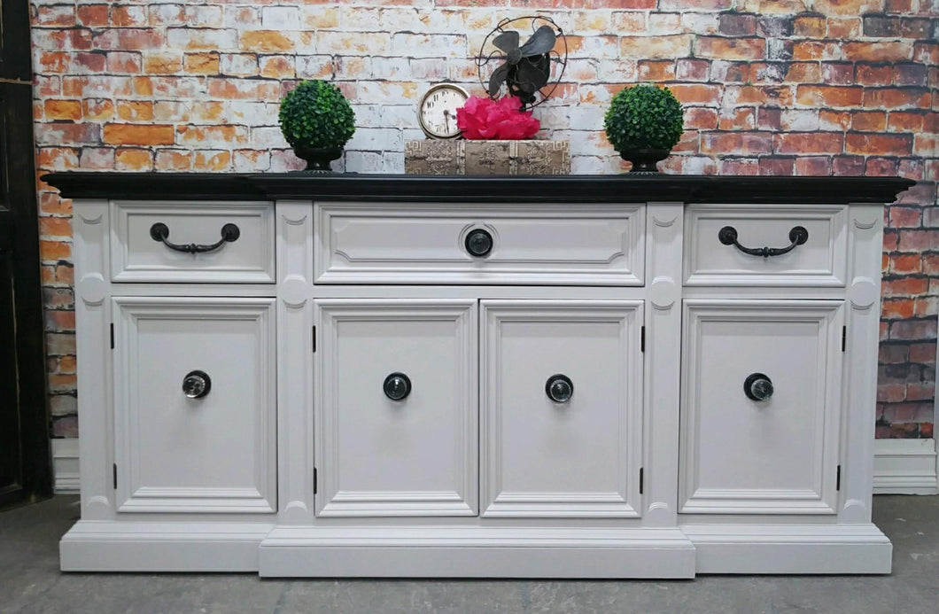 Lori Distressed Antique WhiteBuffet