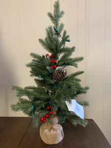 "Bronner's 24"" Snow Tipped Christmas Tree"