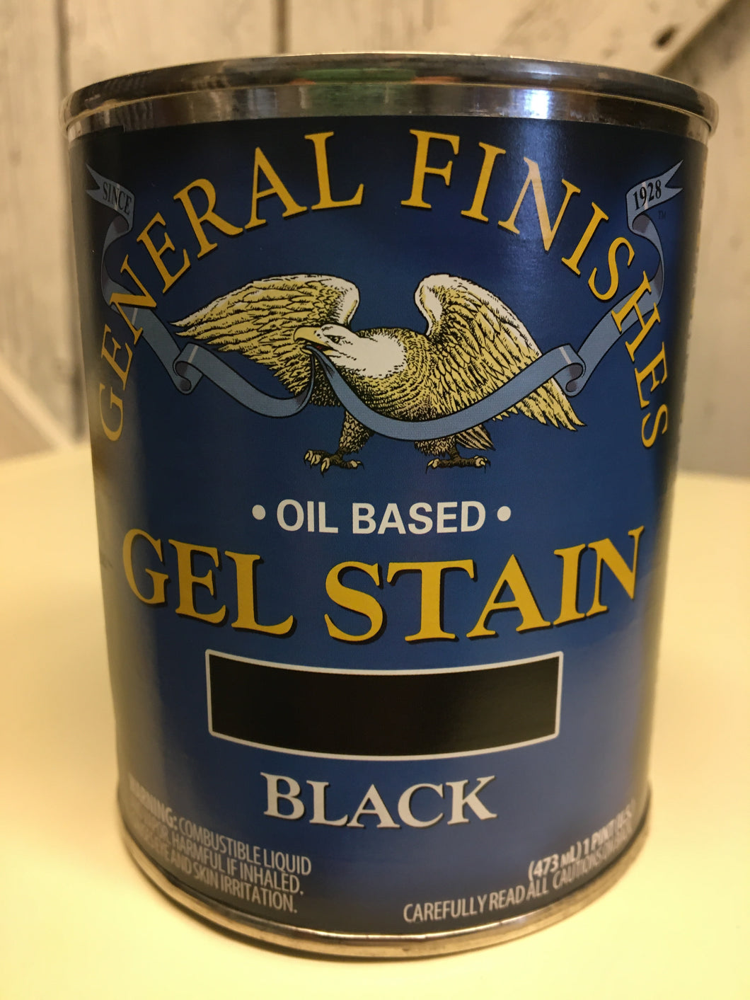 Black Gel Stain Quart