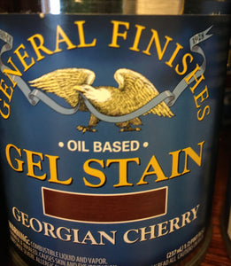 Georgian Cherry Gel Stain 1/2 pint
