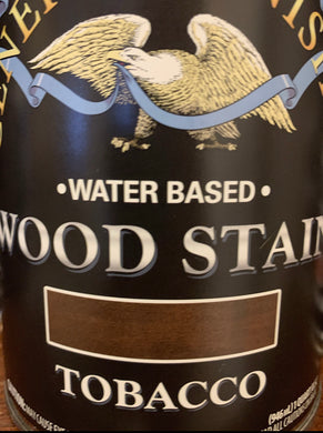 Tobacco Water Based Stain