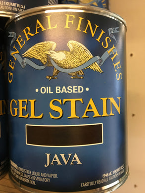 Java Gel Stain Quart