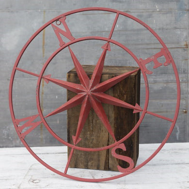 "30"" Old Red Compass"