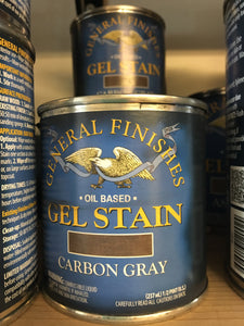 Carbon Gray Gel Stain 1/2 Pint