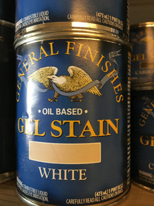White Gel Stain Pint