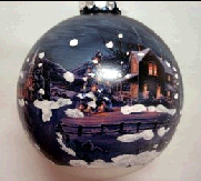 Bronner's House Scene Ornament
