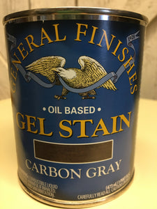 Carbon Gray Gel Stain Quart