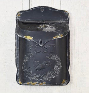 Old Tin Mail Box