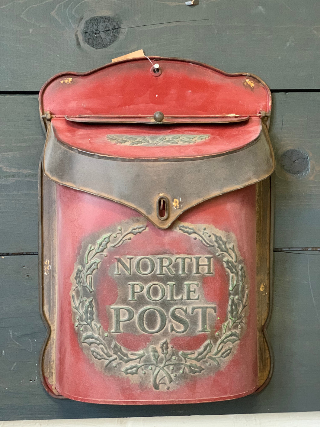 North Pole Post Tin