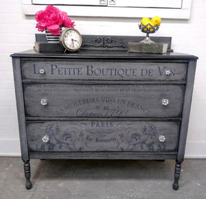 Paul Circa 1930s Three Drawer Dresser