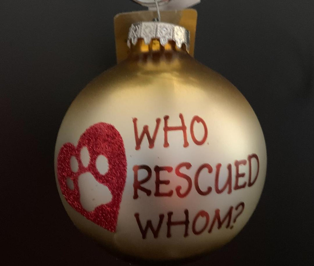 Bronner's Who Rescued Whom Ornament