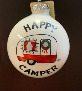 Bronner's Happy Camper Ornament