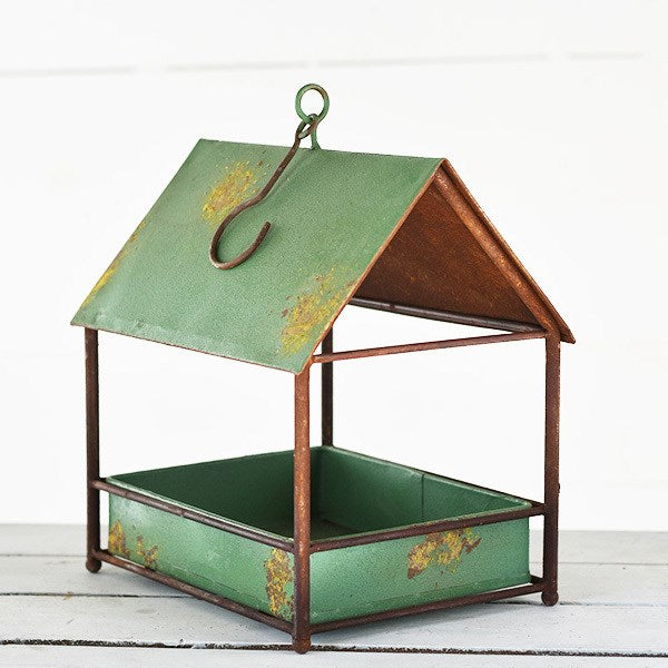 TIN BIRDHOUSE