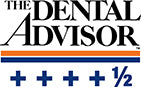 The Dental Advisor gave Adenna Precision Nitrile Gloves a 4.5 rating.