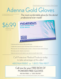 Adenna Gold Gloves Flyer