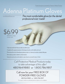 Adenna Platinum Gloves Flyer