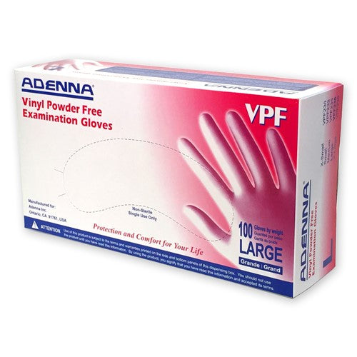 Adenna Vinyl Exam Gloves