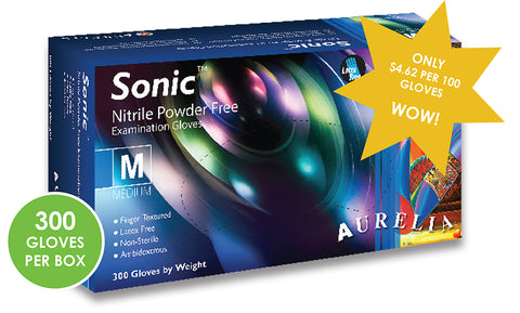 Sonic Nitrile Gloves by Aurelia