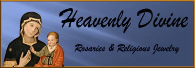 Heavenly Divine Rosaries & Religious Jewelry