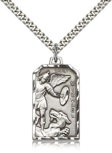 Bliss St Michael the Archangel Patron Saint of Police Officers/EMTs Medal Pendant