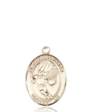 Bliss Guardian Angel Basketball Patron Saint Medal Pendant Necklace