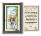 St Christopher Pendant and Holy Prayer Card Gift Set by Bliss Manufacturing