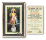 Chaplet of the Divine Mercy Pendant and Holy Prayer Card Gift Set by Bliss Manufacturing