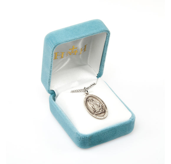 Sterling Gifts Police Guardian Angel Pin Deluxe Gold Silver Plated