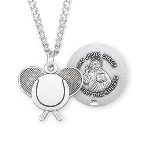 HMH Religious Lord Jesus Christ Tennis Sports Necklace
