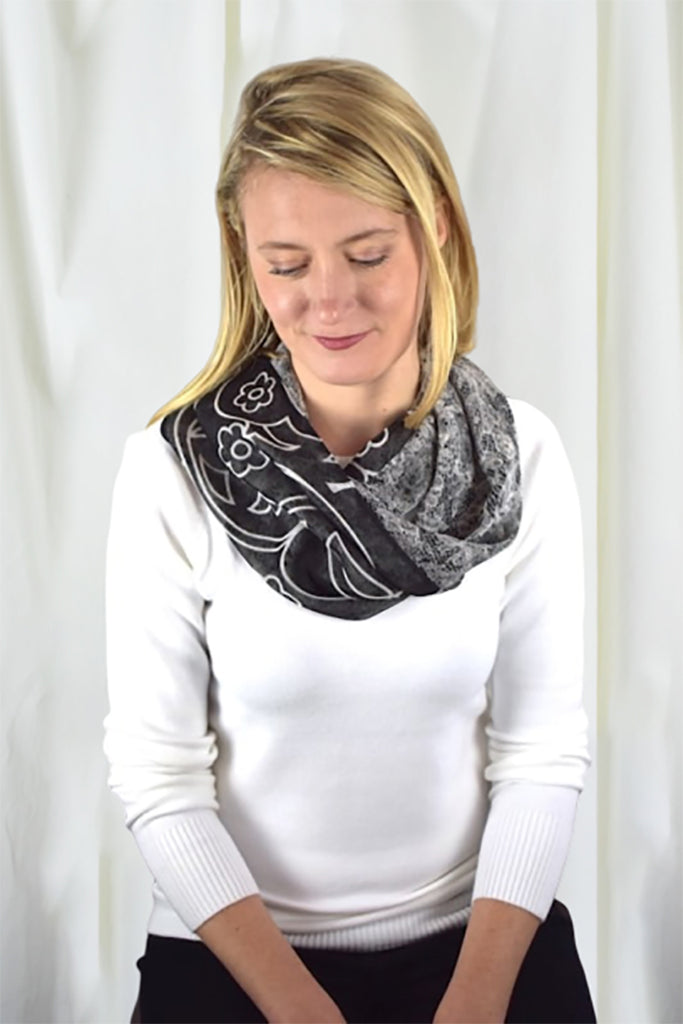 Evening - Infinity Scarf