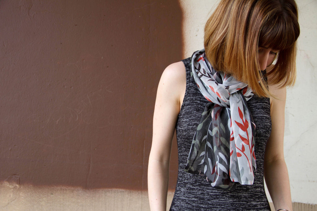 Ivy - Classic Scarf - Ann Catherine Design