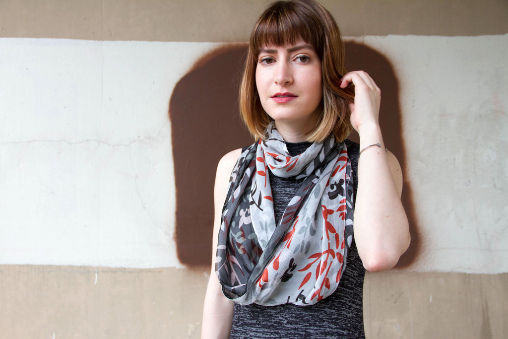 Ivy - Infinity Scarf - Ann Catherine Design