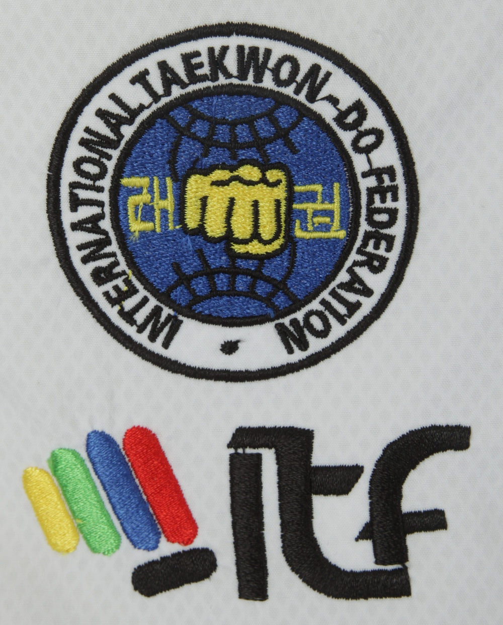 "Taekwon-Do Instructor Dobok ""Premium Gold"" (4th-6th Dan) ITF Approved"