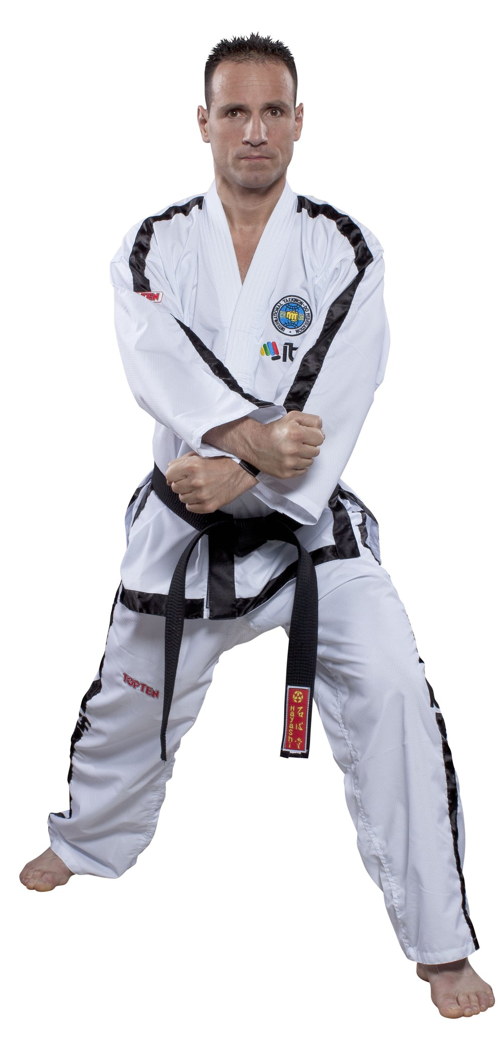 "Taekwon-Do Instructor Dobok ""Diamond"" (4th-6th Dan) ITF Approved"
