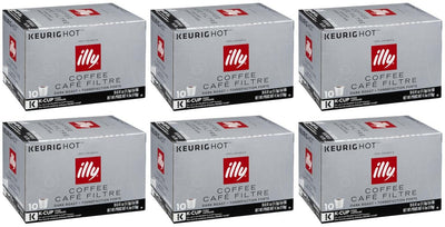 illy K-Cup Pods, Dark Roast, 60 Count